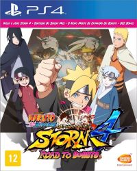 PS4. NARUTO 4 SHIPPUDEN ULTIMATE STORM 4 ROAD TO BORUTO. 100% EM PORTUGUÊS. NOVO.