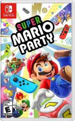 SWITCH. SUPER MARIO PARTY. NOVO.