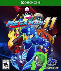 XBOX ONE. MEGA MAN 11. MEGAMAN. NOVO.