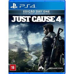 PS4. JUST CAUSE 4. 100% EM PORTUGUÊS. DAY ONE. NOVO.