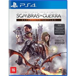 PS4. SOMBRAS DA GUERRA. DEFINITIVE EDITION. 100% DE PORTUGUÊS. NOVO.