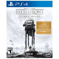 PS4. STAR WARS BATTLEFRONT 1. ULTIMATE EDITION. EXTRAS. REQUER INTERNET. NOVO.