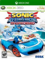 XBOX 360. SONIC ALL STARS RACING TRANSFORMED. NOVO.