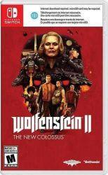 SWITCH. WOLFENSTEIN 2 THE NEW COLOSSUS. NOVO.