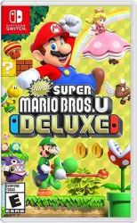 SWITCH. NEW SUPER MARIO BROS DELUXE. EM PORTUGUÊS . NOVO .