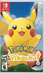 SWITCH. POKEMON LET`S GO PIKACHU. NOVO.