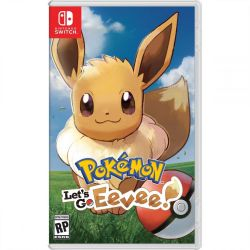 SWITCH. POKEMON LET´S GO EEVEE.  NOVO.