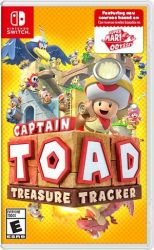 SWITCH. CAPTAIN TOAD: TREASURE TRACKER. NOVO.