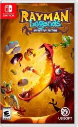 SWITCH. RAYMAN LEGENDS. DEFINITIVE EDITION. 100% EM PORTUGUÊS. NOVO.