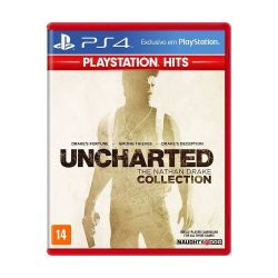 PS4. UNCHARTED 1, 2, 3. 100% EM PORTUGUÊS.  THE NATHAN DRAKE COLLECTION.  NOVO.