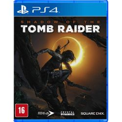 PS4. SHADOW OF THE TOMB RAIDER. 100% EM PORTUGUÊS. NOVO.