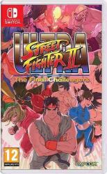 SWITCH. STREET FIGHTER ULTRA. THE FINAL CHALLENGERS. NOVO.
