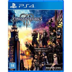 PS4. KINGDOM HEARTS III. 3. NOVO.