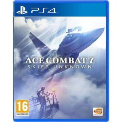 PS4. ACE COMBAT 7. SKIES UNKNOWN. EM PORTUGUÊS. NOVO.