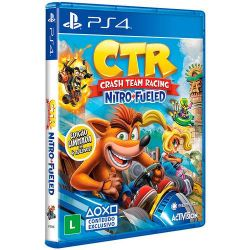 PS4. CRASH TEAM RACING NITRO FUELED. 100% EM PORTUGUÊS. NOVO