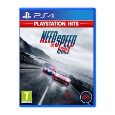 PS4. NEED FOR SPEED RIVALS.  NOVO.