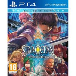 PS4. STAR OCEAN. LIMITED EDITION. NOVO.