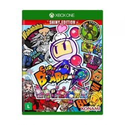 XBOX ONE. SUPER BOMBERMAN R . SHINY EDITION. EM PORTUGUÊS. NOVO.
