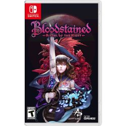 SWITCH. BLOODSTAINED. NOVO.