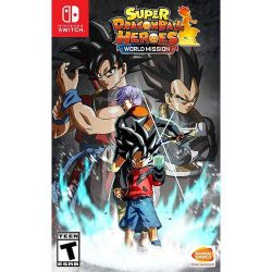 SWITCH. SUPER DRAGON BALL HEROES WORLD MISSION. NOVO.