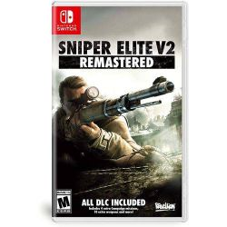 SWITCH. SNIPER ELITE  V2  REMASTER. NOVO.