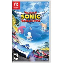 SWITCH. TEAM SONIC RACING. NOVO.