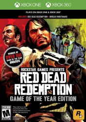 XBOX ONE. RED DEAD REDEMPTION. GAME OF THE YEAR. NOVO.