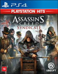 PS4. ASSASSINS CREED SYNDICATE. 100% EM PORTUGUÊS. NOVO.