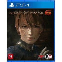 PS4. DEAD OR ALIVE 6. DOA. NOVO.