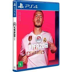 PS4. FIFA 20. EDIÇÃO VANILLA. 2020, 100% EM PORTUGUÊS. NOVO.