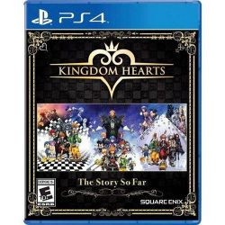 PS4. KINGDOM HEARTS. THE STORY SO FAR. NOVO.