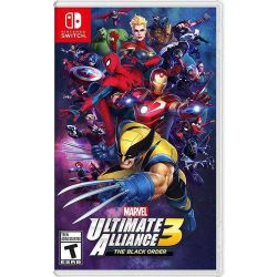 SWITCH. MARVEL ULTIMATE ALLIANCE 3. NOVO.
