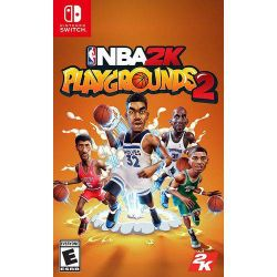 SWITCH. NBA 2K PLAYGROUNDS 2. NOVO.