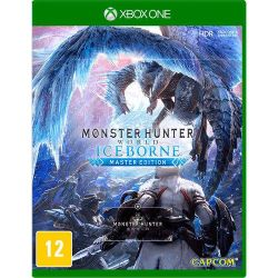 XBOX ONE. MONSTER HUNTER WORLD ICEBORNE MASTER EDITION. EM PORTUGUÊS. NOVO.