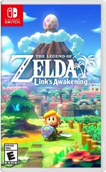 SWITCH. THE LEGEND OF ZELDA LINK`S AWAKENING  INGLÊS / ESPANHOL. NOVO.