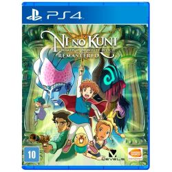 PS4. NI NO KUNI. WRATH O THE WHITE WITCH . REMASTERED. NOVO.