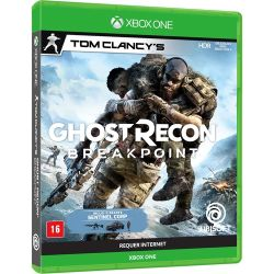 XBOX ONE. TOM CLANCY´S GHOST RECON BREAKPOINT. 100%  EM PORTUGUÊS. NOVO.
