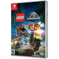 SWITCH. LEGO JURASSIC WORLD. DUBLADO EM PORTUGUÊS. NOVO.