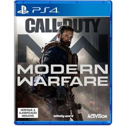 PS4. CALL OF DUTY MODERN WARFARE. 100% EM PORTUGUÊS.  NOVO.