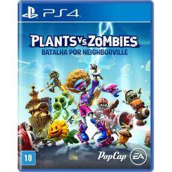 PS4. PLANTS VS ZOMBIES . BATALHA POR NEIGHBORVILLE. 100% EM PORTUGUÊS. REQUER INTERNET. NOVO.