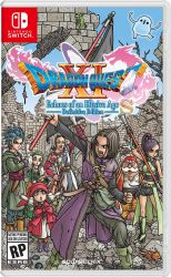 SWITCH. DRAGON QUEST XI. NOVO.