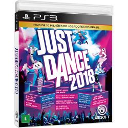 PS3 JUST DANCE 2018. EM PORTUGUÊS. NOVO.