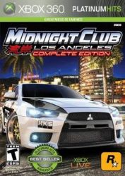 XBOX 360. MIDNIGHT CLUB. LOS ANGELES. COMPLETE EDITION. NOVO.