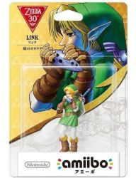 AMIIBO. LINK OCARINA OF TIME . NOVO.