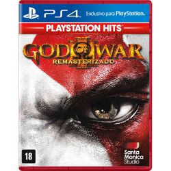 PS4. GOD OF WAR III 3 REMASTERIZADO. 100% EM PORTUGUÊS.  NOVO.