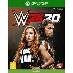 XBOX ONE. WWE W2K20. 20. NOVO.