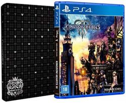 PS4. KINGDOM HEARTS III. 3. STEELBOOK. NOVO.