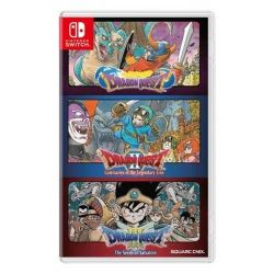 SWITCH. DRAGON QUEST COLLECTION, 1,2,3. NOVO.