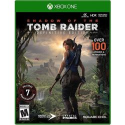 XBOX ONE. TOMB RAIDER SHADOW DEFINITIVE EDITION. 100% EM PORTUGUÊS. NOVO.