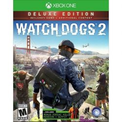 XBOX ONE. WATCH DOGS 2 DELUXE EDITION. EM PORTUGUÊS. NOVO.